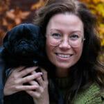 Hond en baasje fotograaf fotografie